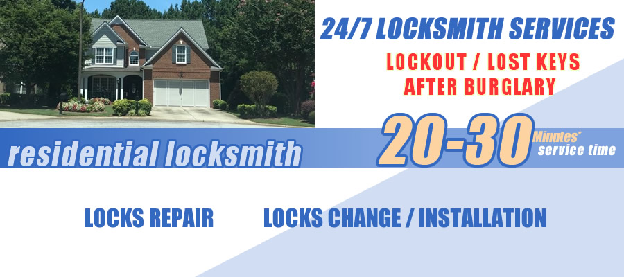Residential locksmith Atlanta